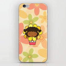 Flower in a Pot iPhone & iPod Skin