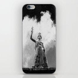 Monument Series: Gravity Angel #4 iPhone Skin