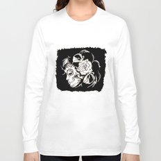 Dama De Los Muertos Long Sleeve T-shirt