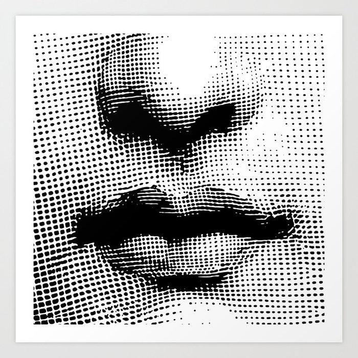 Lina Cavalieri - nose and mouth Kunstdrucke
