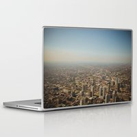 chicago Laptop & iPad Skins featuring Chicago  by Ashley Dru