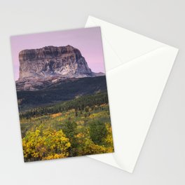 Chief Mountain Sunrise Stationery Cards