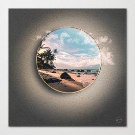 Portal Playa Canvas Print