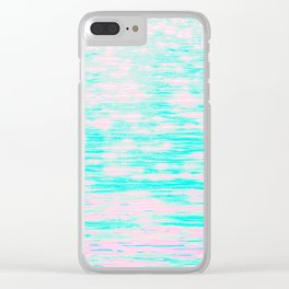 *arpeggiated ambient synth playing* Clear iPhone Case