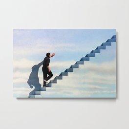 The Truman Show Movie Poster - Truman Burbank Print - 90's, Surreal, Fantasy, Abstract, Digital Oil Painting, Home, Art, Wall Art Metal Print