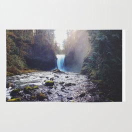 Oregon Waterfall Rug