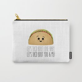 Let's Taco Bout Love Baby Carry-All Pouch
