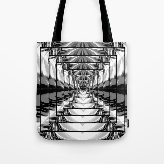 Abstract.Black+White. Tote Bag