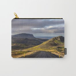 Saefellsjokull Iceland Carry-All Pouch
