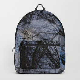 Abstract tress Backpack