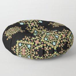 Gothic Folkloric Floor Pillow