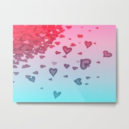 Hearts Of Heart Metal Print