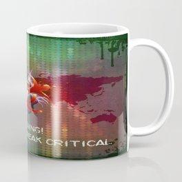 ZOMBIE OUTBREAK CRITICAL Coffee Mug