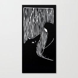 Il lupo  Canvas Print