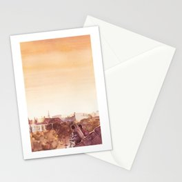 Glimpses of Art poster design (without text) Stationery Cards