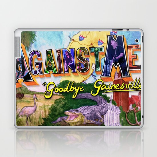"""Goodbye Gainesville"" by Cap Blackard Laptop & iPad Skin"
