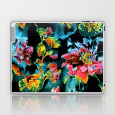 double floral Laptop & iPad Skin