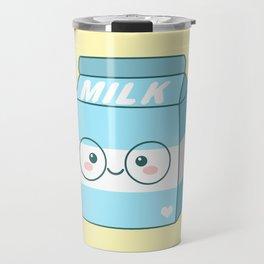 Kawaii Milk Travel Mug