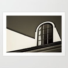 Upstairs Window Art Print