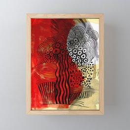 After the burn Framed Mini Art Print