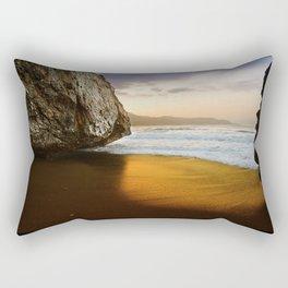 Golden Beach, Nerja, Spain Rectangular Pillow