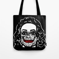 mike wrobel Tote Bags featuring Mike... by Dave Bell