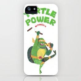 Ninja Turtles Turtle Power iPhone Case