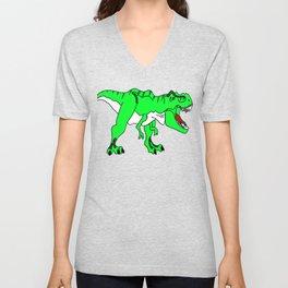 The Terrifying T-Rex Unisex V-Neck