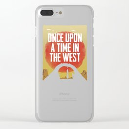 Once Upon a Time in the West - Hanging Clear iPhone Case
