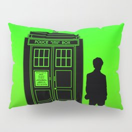 Tardis With The Eleventh Doctor Pillow Sham