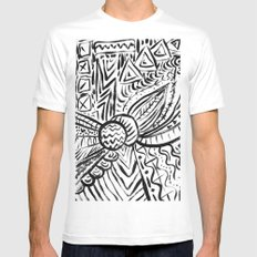 Chaos Mens Fitted Tee White SMALL