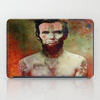 tatoo iPad Cases featuring Abraham Tatoo by Ganech joe