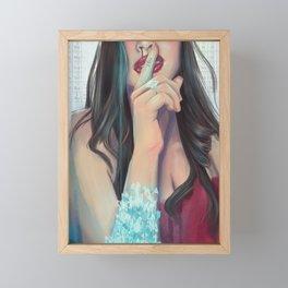 Blue Sky Framed Mini Art Print