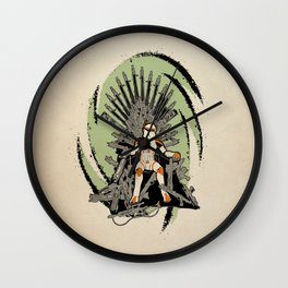 Game of Clones Wall Clock