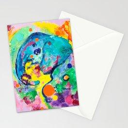 Joyful Elephant Stationery Cards