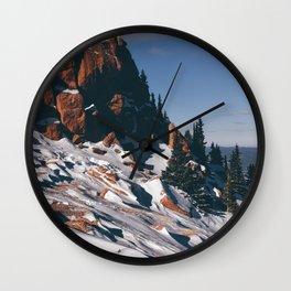 Pikes Peak, Colorado Wall Clock