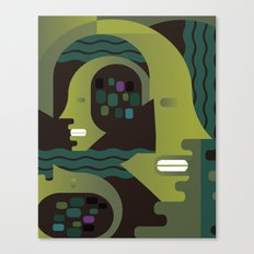 Nike and Neptune Canvas Print