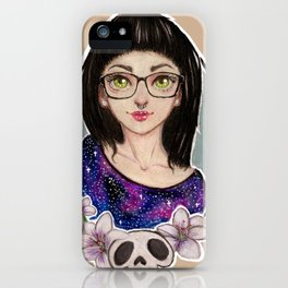 Lilie Girl iPhone Case
