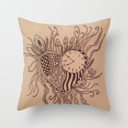 LOVE & CONTEMPT Throw Pillow