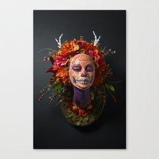 Summer Muertita Front Canvas Print