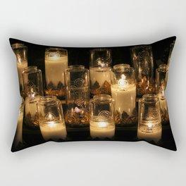 church candles Rectangular Pillow