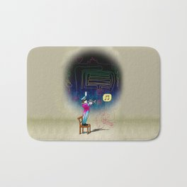 Make your own kind of music! Bath Mat