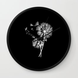Mama Dandelion Gift Mom Baby Expectant Mother Wall Clock