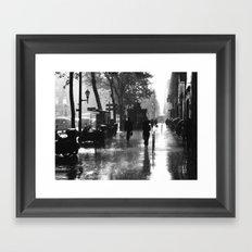 Many thanks to the rain Framed Art Print