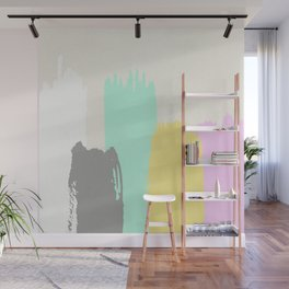 Brush Strokes III Wall Mural