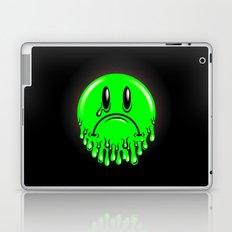 Slimey - neon green Laptop & iPad Skin