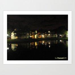 Swamped Night Art Print