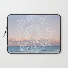 Twilight surf mandala Laptop Sleeve