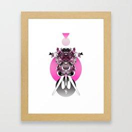 Ms. Juggernaut Framed Art Print