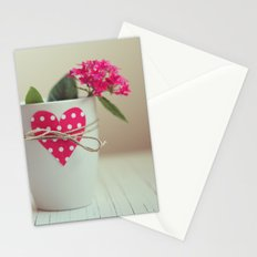 Cup full of love Stationery Cards